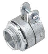 FMC Squeeze Connector, Insulated, Straight